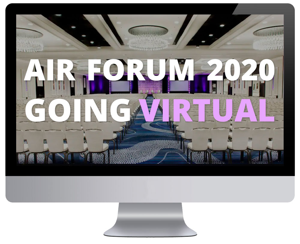 AIR Forum 2020 is going 'virtual' as an online-only conference
